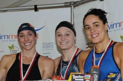 The stars from the USA convince at the Swimmeeting