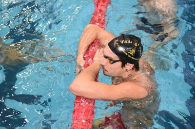 Franca da Silva third top swimmer from Brazil at the Swimmeeting South Tyrol